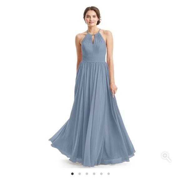 a484744589f Azazie Dresses   Skirts - Azazie Cherish Dress in Dusty Blue